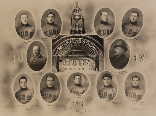 New Glasgow Cubs - Maritime Provinces Hockey Association 1913