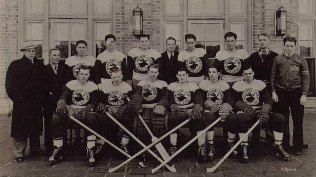 Moose Jaw Millers - Team Photo - Saskatchewan - 1937