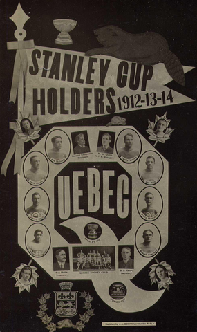 Quebec Bulldogs - Stanley Cup Champions - 1912 / 1913