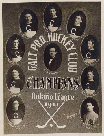 Galt Pro Hockey Club - Champions of Ontario League 1911
