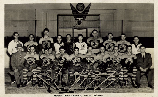 Moose Jaw Canucks - Abbott Memorial Cup Champions 1945