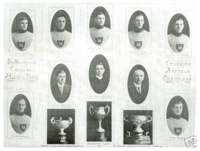 St Michaels College Hockey Team - Allan Cup Champions 1910