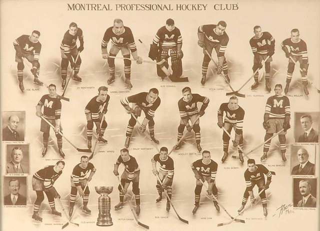 Montreal Maroons - Stanley Cup Champions 1935
