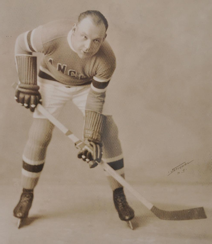 Taffy Abel - New York Rangers - 1920s
