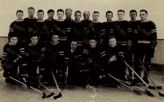New York Rangers Team Photo - 1933