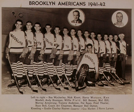 Brooklyn Americans Team Photo - 1941 / 42 Season