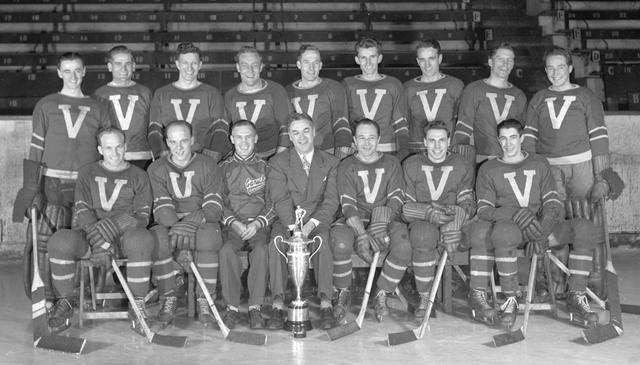 Vancouver Canucks - PCHL Presidents Trophy Champions 1946