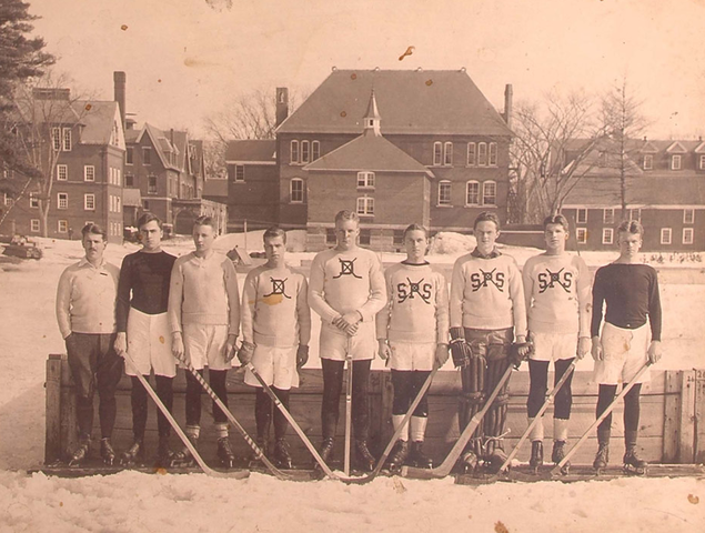 St. Paul's School Hockey Team - circa 1910s