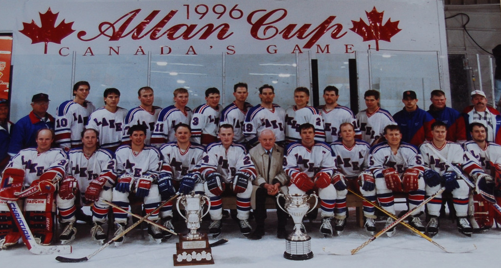 Warroad Lakers Allan Cup Champions
