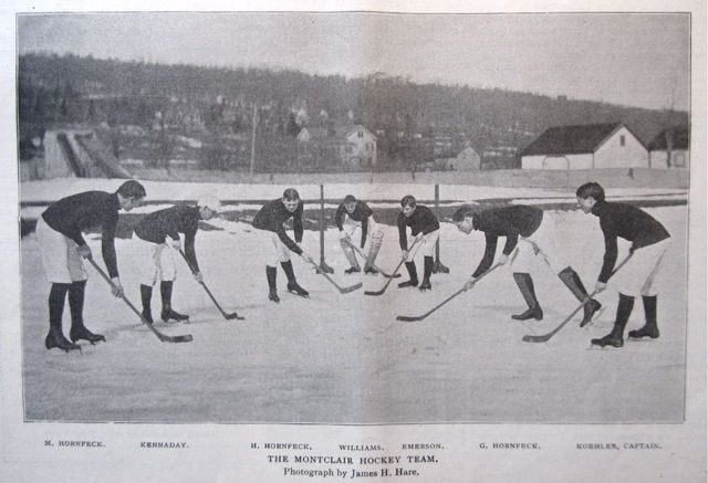 The Montclair Hockey Club - Montclair Athletic Club 1897