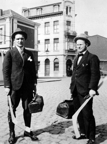 Seth Howander & Hansjacob Mattsson of Team Sweden - Antwerp 1920