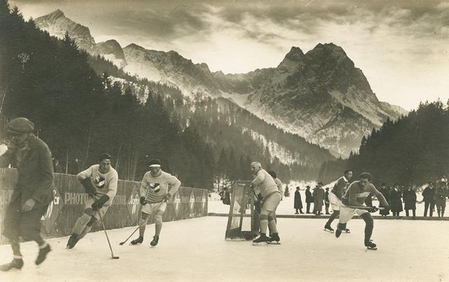eishockey game