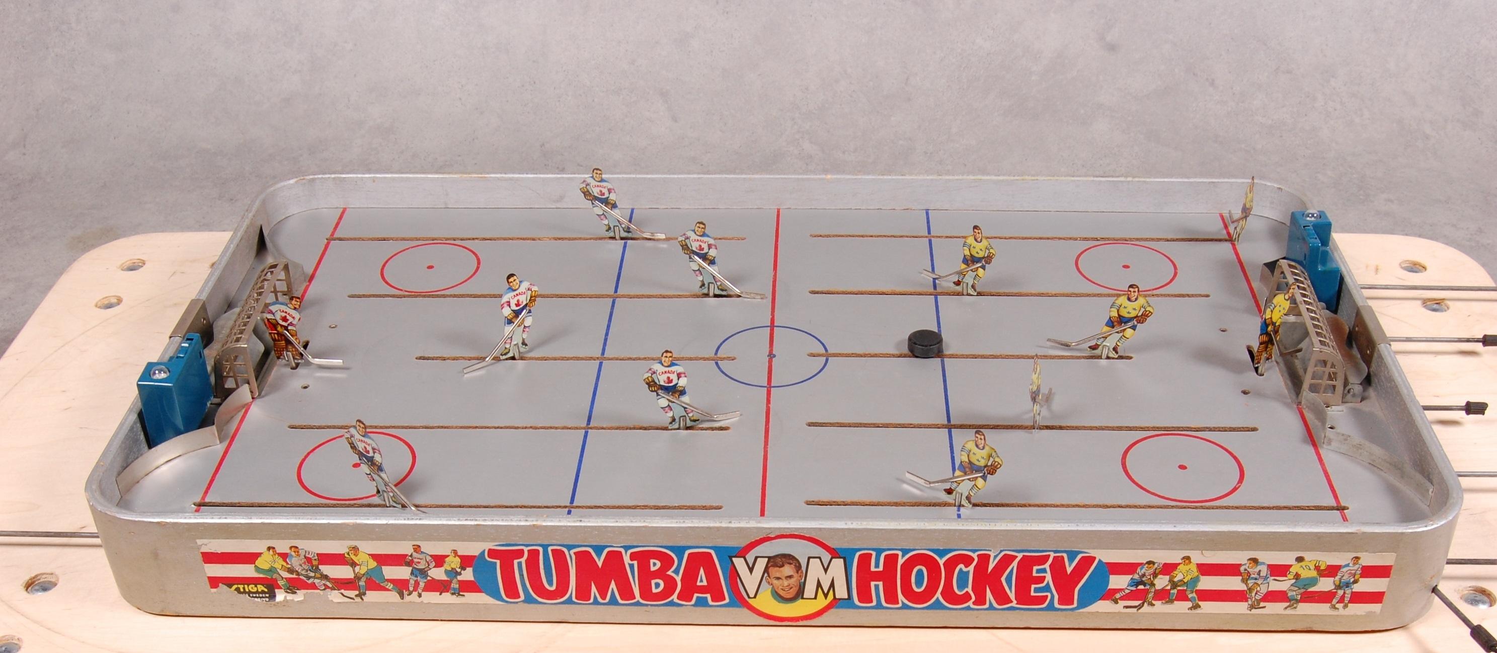 Vintage table hockey - Stiga Vintage Table Hockey Tumba Vm Hockey Game 1958