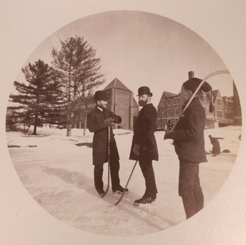 James Potter Conover & George William Lay - Ice Polo at SPS 1890