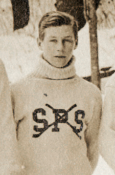 Hobey Baker - 15 Years Old at St. Paul's School Hockey Team 1908