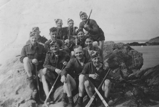 Royal Air Force Hockey at Beachcroft Hotel Newquay - World War 2