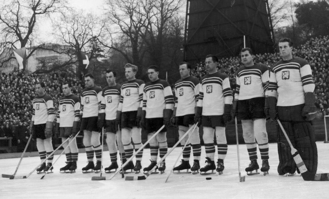 Czechoslovakia National Ice Hockey Team 1939