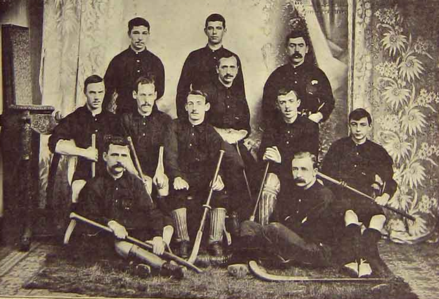 Wales Field Hockey Team 1895