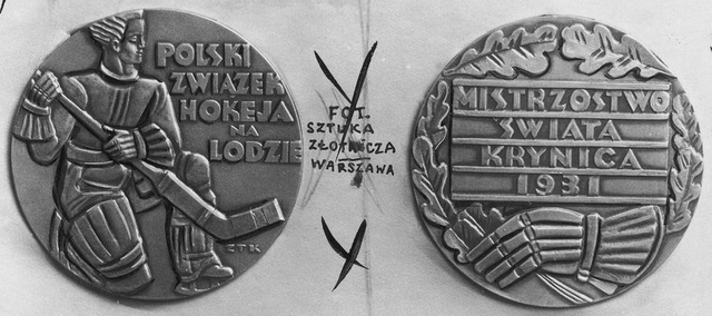 1931 World Ice Hockey Championships Commemorative Medals