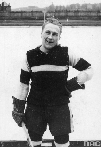 Włodzimierz Krygier - Polish Ice Hockey Player 1932