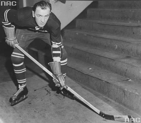 Aleksander Kowalski - Polish National Ice Hockey Team 1932