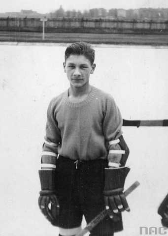Czesław Marchewczyk - Polish National Ice Hockey Team