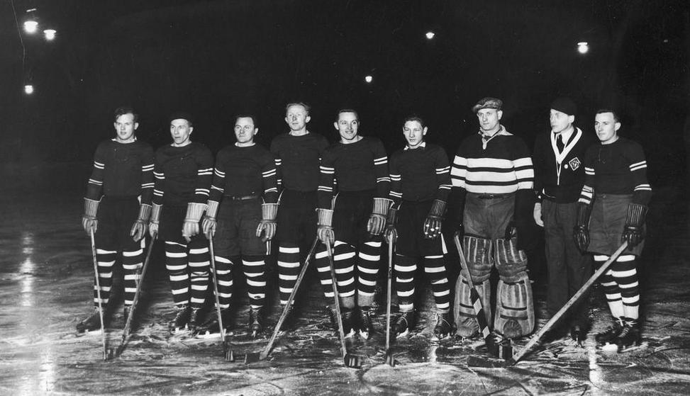 Polish National Ice Hockey Team 1932 Hockeygods