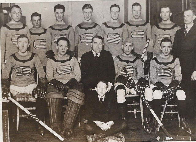 Team USA - 1920 Olympic Hockey Team