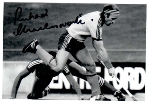 Ric Charlesworth Autographed Action Photo - Kookaburras Captain