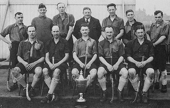 Queen's Royal Regiment - Winners Eastern Command Hockey Cup 1931