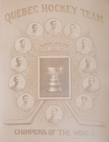 Quebec Bulldogs / Quebec Hockey Team  Stanley Cup Champions 1913