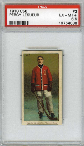 Percy LeSueur No2 Imperial Tobacco C56 Rookie Card - PSA 6.5