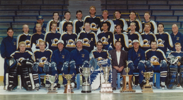 Stoney Plain Eagles - Allan Cup Champions 1999