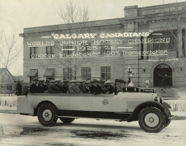 Calgary Canadians - World's Junior Hockey Champions 1926