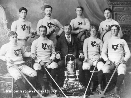 Calgary Victoria Hockey Team - circa 1901