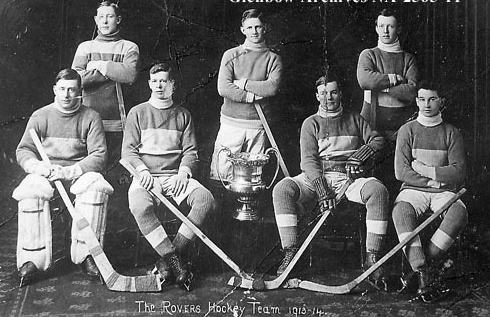 Regina Rovers Hockey Team - 1914 Champions