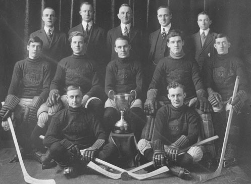 Ogden Shops Hockey Team - 1916 Champions