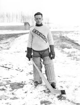 Bill Tobin - Edmonton Eskimos Hockey Team Goalie 1921