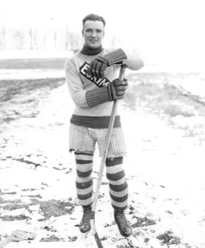 Bullet Joe Simpson - Edmonton Eskimos Hockey Team 1921