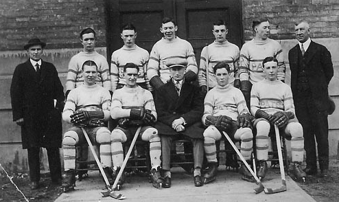 Regina Pats at Arena Gardens in Toronto - 1925 Memorial Cup