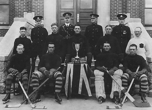 Royal Canadian Mounted Police  Regina RCMP Hockey Champions 1925