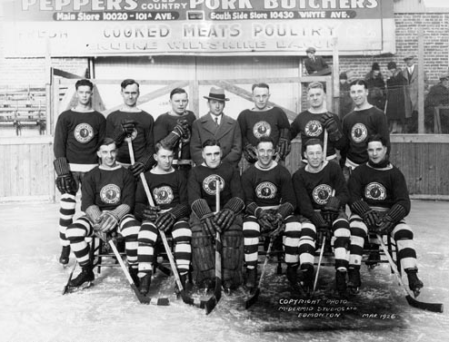 Edmonton Eskimos Hockey Team 1926