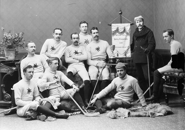 Ottawa Hockey Club - OHA Champions & Cosby Cup Winners 1891