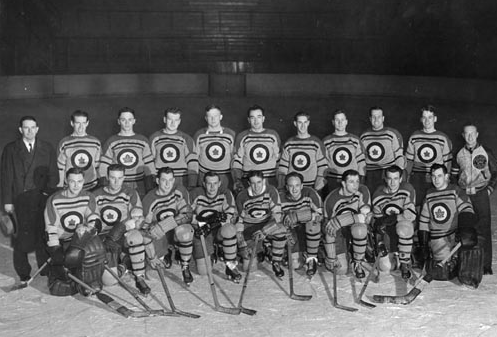 RCAF Flyers - Allan Cup Champions 1942