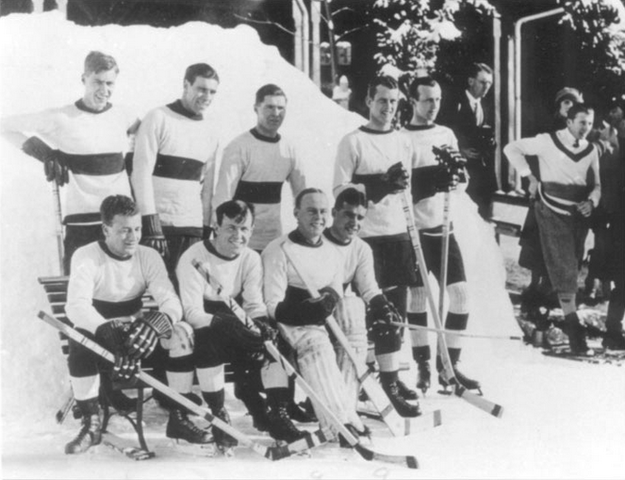 Oxford University Ice Hockey Club 1922