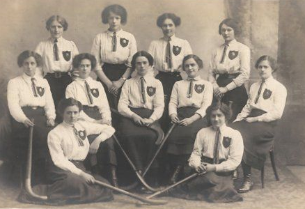 Antique Ladies Field Hockey Team - circa 1905