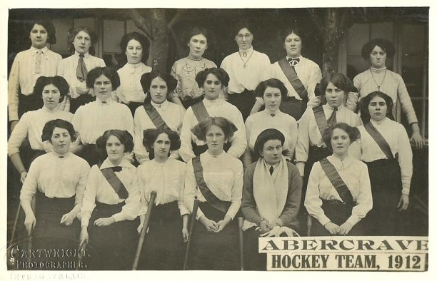 Abercrave Ladies Hockey Team 1912