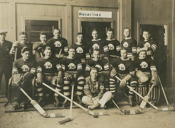 Halifax Wolverines Team Photo 1935