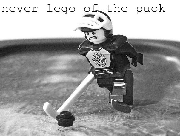 Never Lego of the Puck