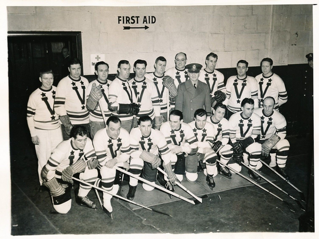 Army Relief Classic - NHL Old-Time All-Stars Team 1942